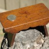 Miniature Walnut Foot Stool